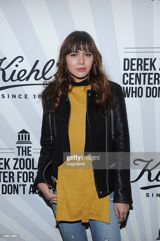 Natalie Suarez attends Kiehl's Zoolander Center Opening on February 9, 2016 in New York City.