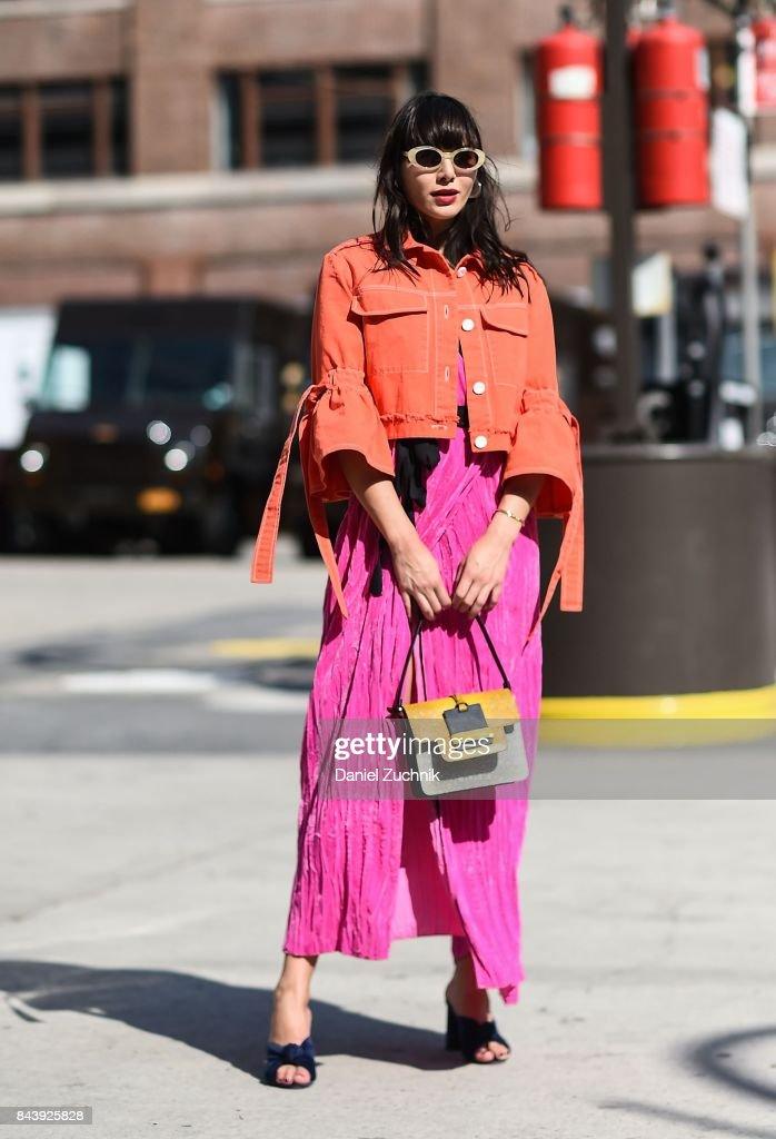 NYFW Street Style: Pretty in Pink