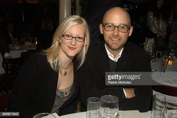 Natalie Underwood and Moby attend PAPER MAGAZINE Hosts Dinner for Pedro Almodovar at Indochine on October 5 2006 in New York City