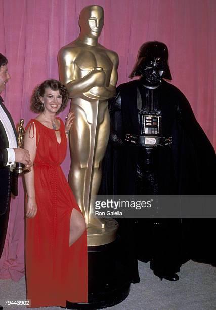 Natalie Wood and Darth Vader