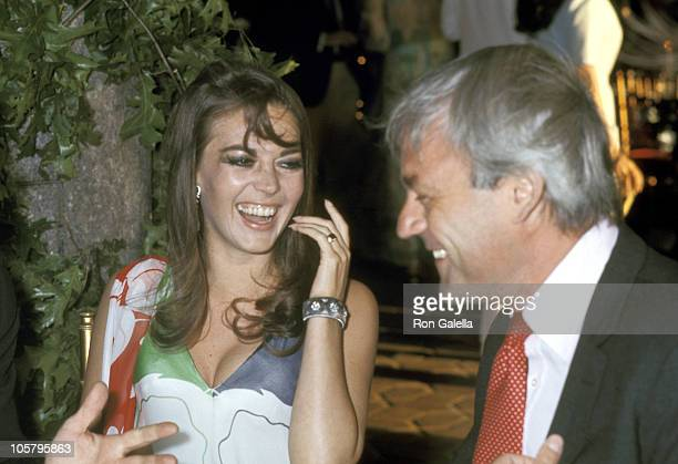 Natalie Wood and Husband Richard Gregson during Premiere of 'The Boys in the Band' at National Theater in Westwood California United States