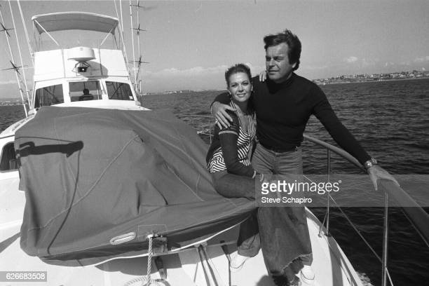 Natalie Wood and Robert Wagner on the Splendor