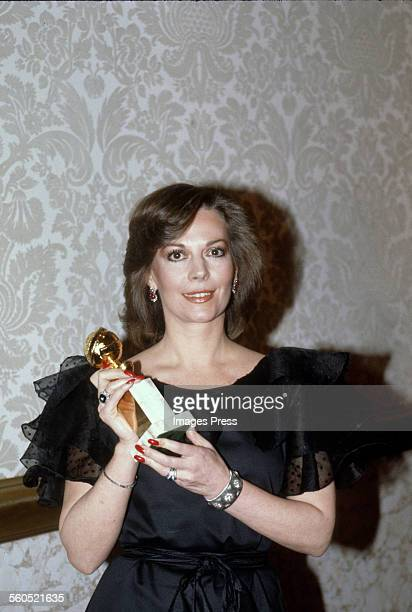 Natalie Wood attends the 38th Golden Globe Awards circa 1981 in Beverly Hills California