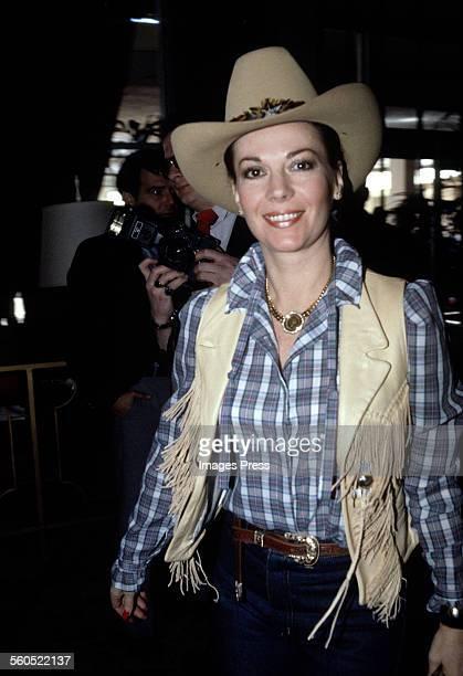 Natalie Wood circa 1981 in Los Angeles California