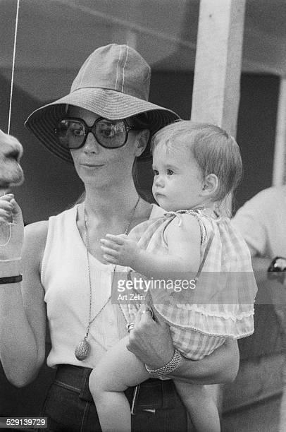 Natalie Wood with Natasha born in 1970 New York