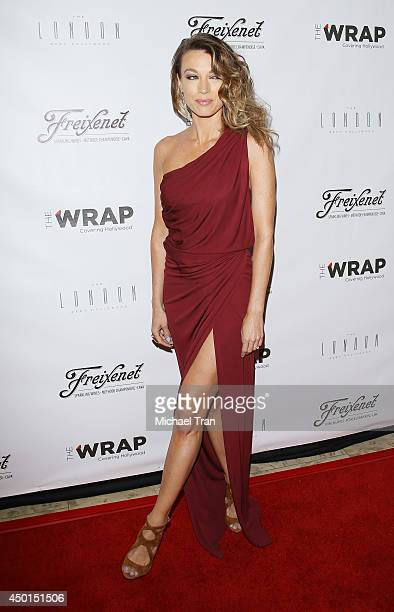 Natalie Zea arrives at TheWrap's First Annual Emmy Party held at The London West Hollywood on June 5 2014 in West Hollywood California