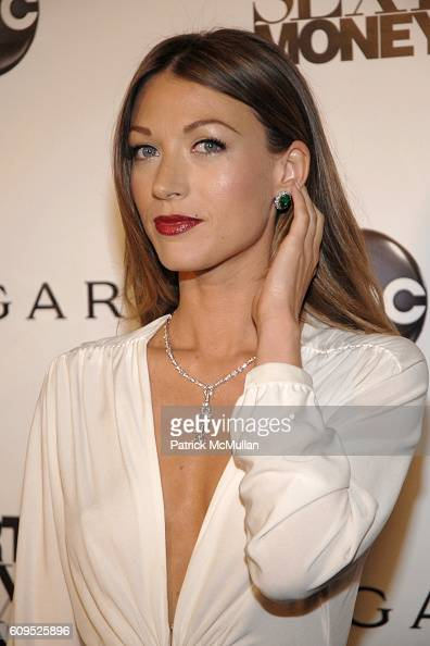 Natalie Zea attends BVLGARI Presents the Premiere Event For 'Dirty Sexy Money' at Paramount Theatre on September 23 2007 in Los Angeles CA