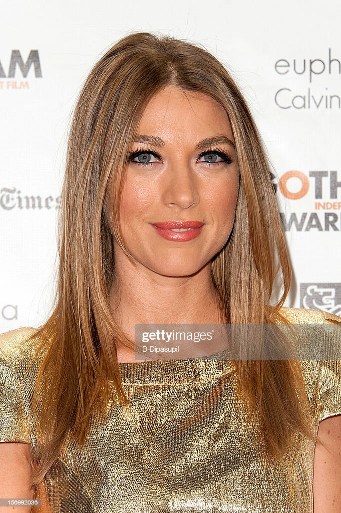 Natalie Zea attends the 22nd annual Gotham Independent Film awards at Cipriani, Wall Street on November 26, 2012 in New York City.