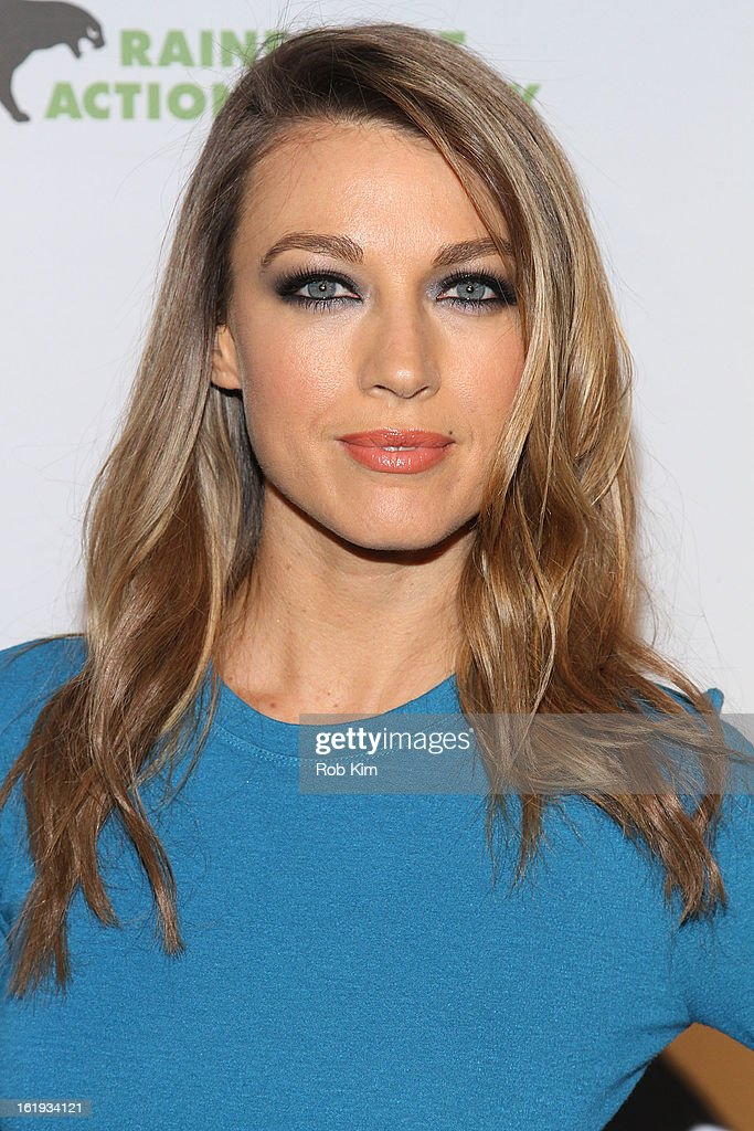 Natalie Zea attends The Rainforest Action Network Benefit at The Cutting Room on February 17, 2013 in New York City.