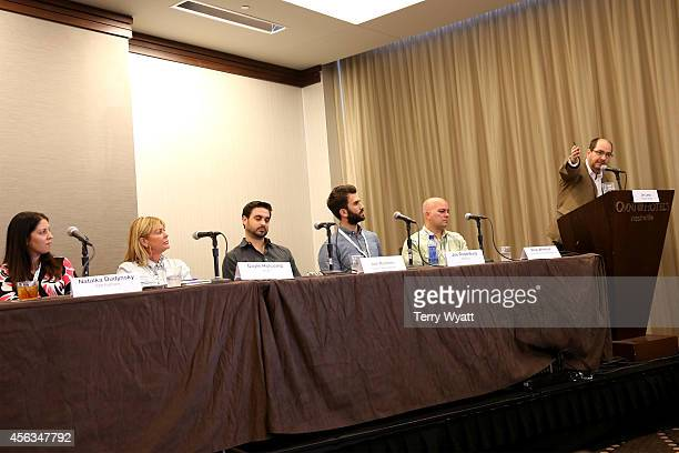 Natalka Dudynsky of ICM Partners Gayle Holcomb of WME Jon Romero of Vector Management Joe Rosenberg of AM Only Rick Whetsel of G7 Entertainment...