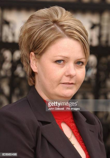 Natallie Evans leaves the Court of Appeal after the first day of her appeal hearing to prevent her own frozen embryos from being destroyed Ms Evans...