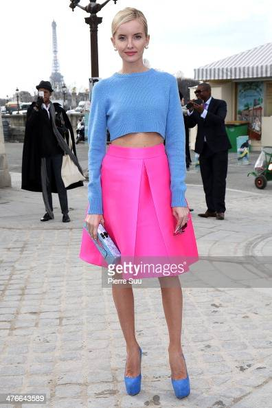 Natalya Yakimchick attends the Valentino show as part of the Paris Fashion Week Womenswear Fall/Winter 20142015 on March 4 2014 in Paris France
