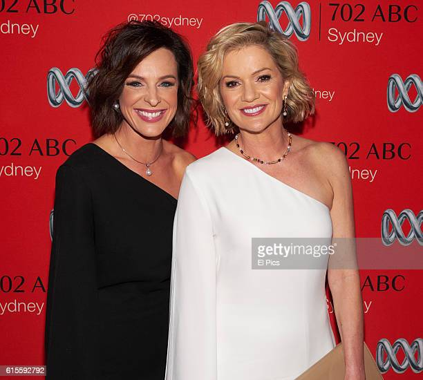 Natarsha Belling and Sandra Sully attends the 2016 Andrew Olle Media Lecture on October 14 2016 in Sydney Australia