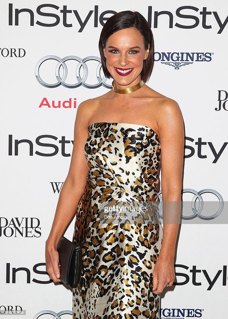 Natarsha Belling arrives at the 2013 Instyle and Audi Women of Style Awards at Carriageworks on May 14, 2013 in Sydney, Australia.