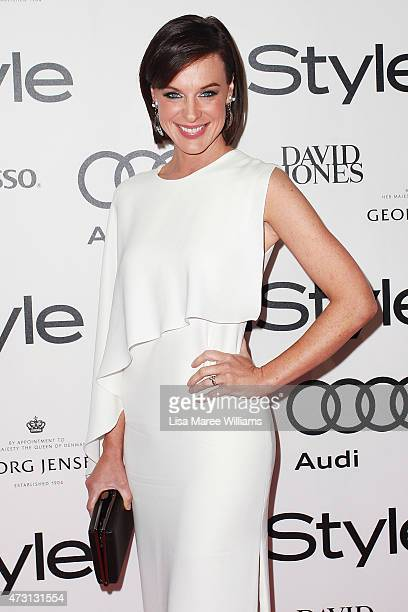 Natarsha Belling arrives at the 2015 Women of Style Awards at Carriageworks on May 13 2015 in Sydney Australia