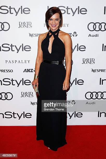 Natarsha Belling arrives at the Instyle and Audi 'Women of Style' Awards on May 21 2014 in Sydney Australia
