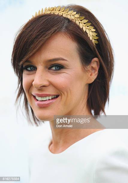 Natarsha Belling attends the Crown Resorts Ladies Lunch at Inglis Stables at Inglis Newmarket Stables on March 18 2016 in Sydney Australia