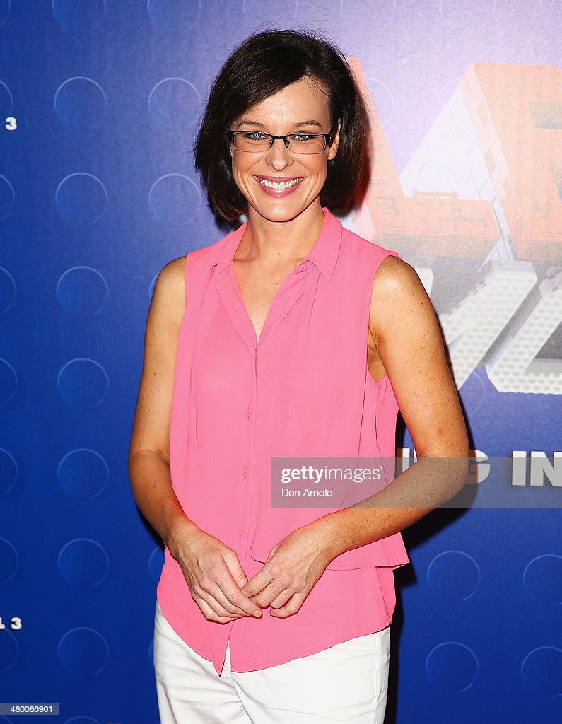 <a gi-track='captionPersonalityLinkClicked' href=/galleries/search?phrase=Natarsha+Belling&family=editorial&specificpeople=213259 ng-click='$event.stopPropagation()'>Natarsha Belling</a> attends the Sydney premiere of The LEGO Movie at Event Cinemas on March 23, 2014 in Sydney, Australia.