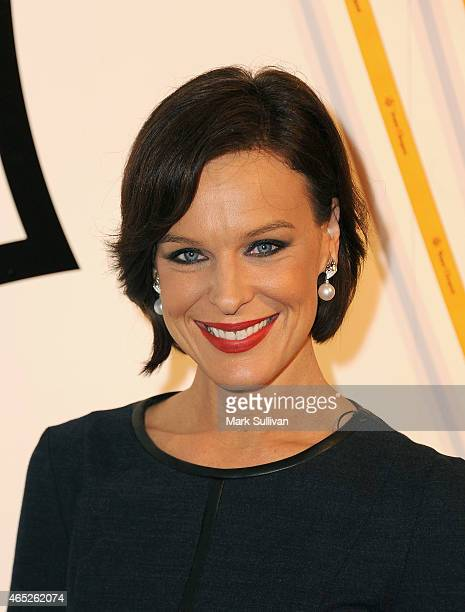 Natarsha Belling attends the Veuve Clicquot New Generation Award presentation at Luxe Studios on March 5 2015 in Sydney Australia