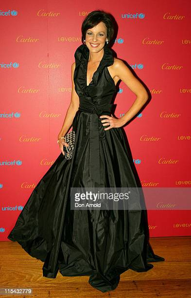 Natarsha Belling during Cartier International Love Day Black Tie Dinner Supporting UNICEF at The Establishment Level 1 252 George Street in Sydney...