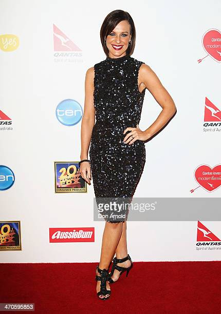 Natarsha Belling poses at the Modern Family Media Call at The Sebel on February 20 2014 in Sydney Australia The cast from the popular television...