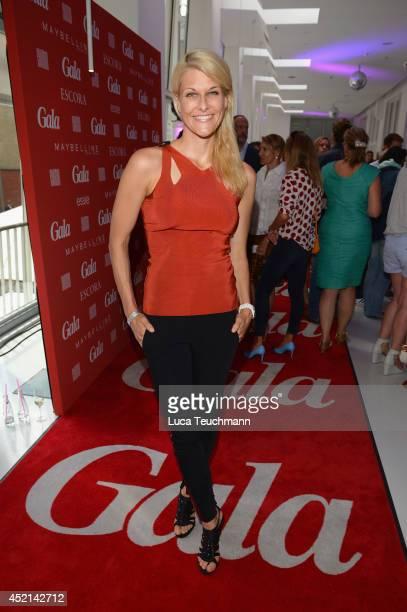 Natascha Gruen attends the Gala Fashion Brunch at Ellington Hotel on July 11 2014 in Berlin Germany