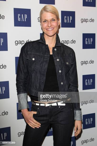 Natascha Gruen attends the GAP PopUp Shop Opening on May 7 2014 in Munich Germany