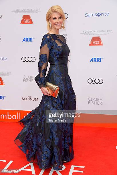 Natascha Gruen attends the German Film Ball 2017 at Hotel Bayerischer Hof on January 21 2017 in Munich Germany