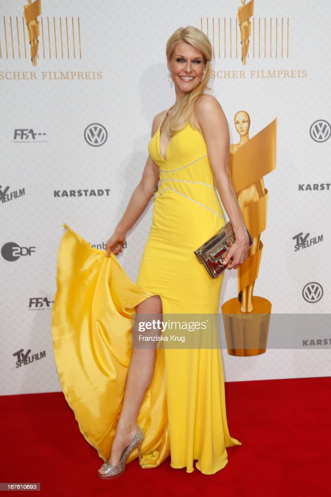 Natascha Gruen attends the Lola German Film Award 2013 at Friedrichstadt-Palast on April 26, 2013 in Berlin, Germany.