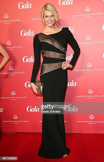 Natascha Gruen dress dresscoded during the Gala Spa Awards 2015 at Brenners ParkHotel Spa on March 21 2015 in BadenBaden Germany