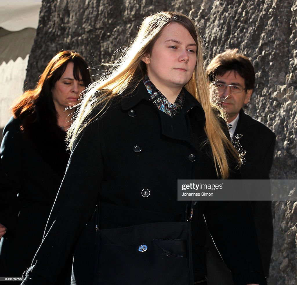<a gi-track='captionPersonalityLinkClicked' href=/galleries/search?phrase=Natascha+Kampusch&family=editorial&specificpeople=2432790 ng-click='$event.stopPropagation()'>Natascha Kampusch</a> (C) attends the memorial service for Bernd Eichinger at the St. Michael Kirche on February 07, 2011 in Munich, Germany. Producer Bernd Eichinger died of a heart attack in Los Angeles on January 24. Leading the Constantin Film he produced films like 'Perfume', 'Christiane F.', 'Smillas Sense of Snow' or 'Der Untergang' receiving multiple awards.