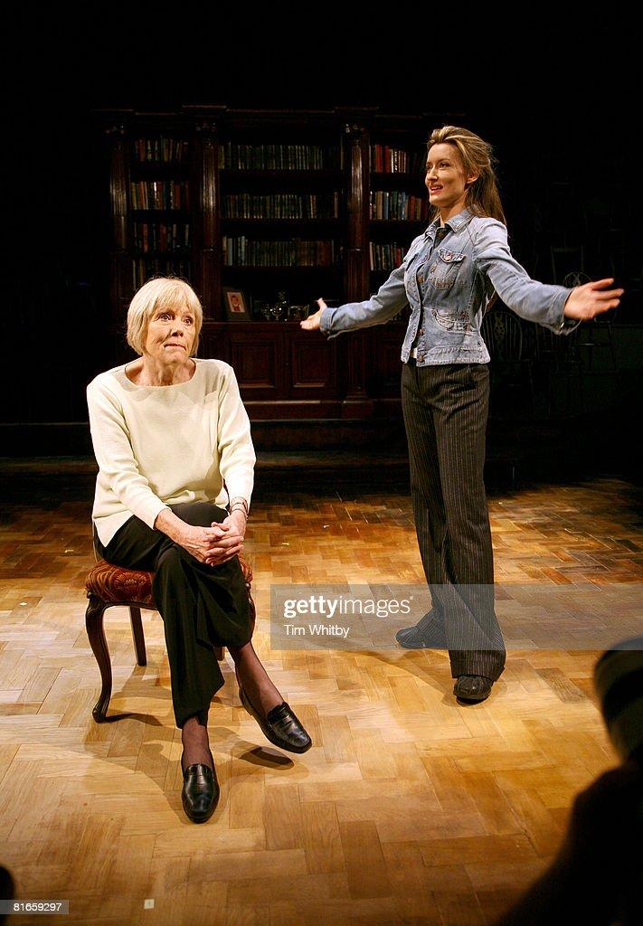 Natascha McElhone and Diana Rigg