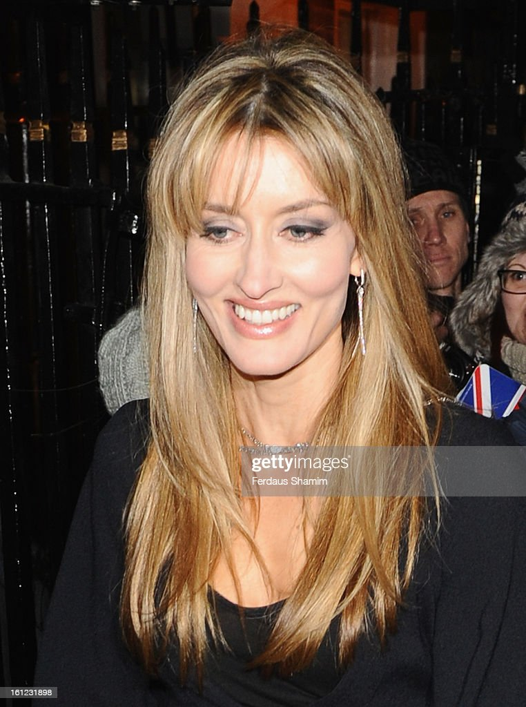 <a gi-track='captionPersonalityLinkClicked' href=/galleries/search?phrase=Natascha+McElhone&family=editorial&specificpeople=204753 ng-click='$event.stopPropagation()'>Natascha McElhone</a> attends the pre-BAFTA dinner hosted by Charles Finch and Chanel at Annabels on February 9, 2013 in London, England.