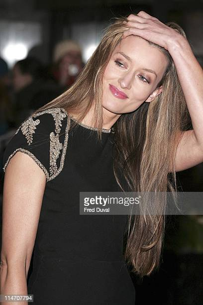 Natascha McElhone during 2006 Laurence Olivier Awards Arrivals at London Hilton in London United Kingdom