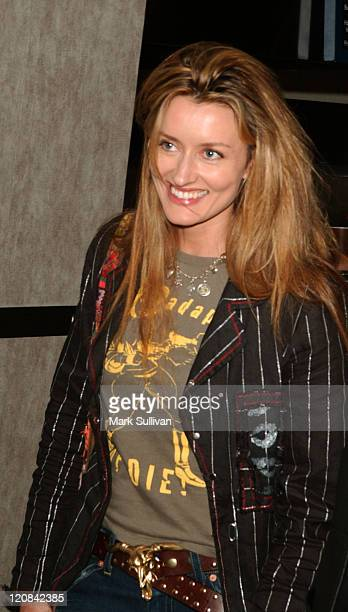 Natascha McElhone during 'A Love Song For Bobby Long' Los Angeles Premiere Arrivals at The Arc Light in Hollywood California United States