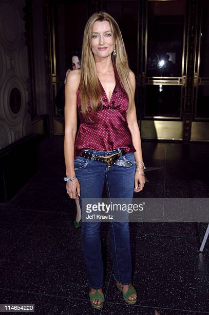 Natascha McElhone during 'Entourage' Season Two Los Angeles Premiere Arrivals at El Capitan Theater in Hollywood California United States