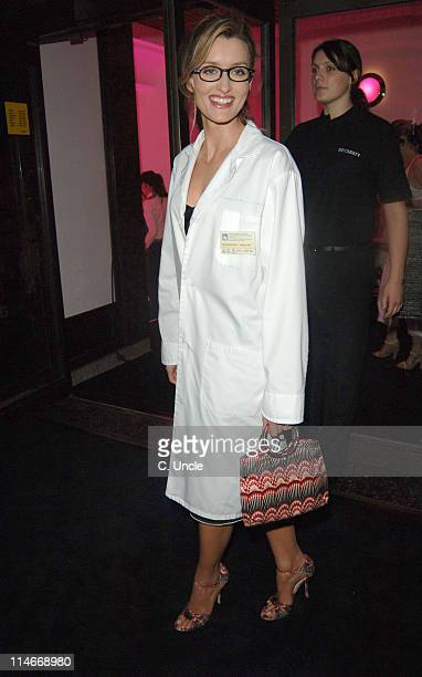 Natascha McElhone during Harpers Queen Launch '100 Most Beautiful Women of the 20th Century' Exhibition at Selfridges in London Great Britain