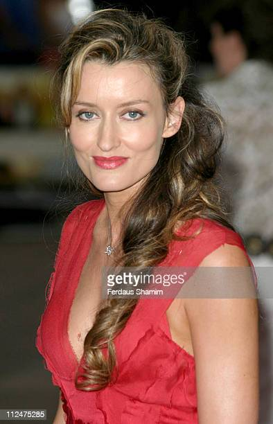 Natascha McElhone during 'Pride Prejudice' London Premiere at Odeon Leicester Square in London Great Britain