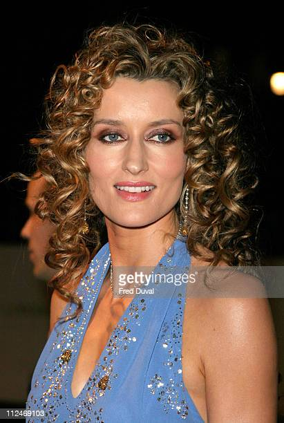 Natascha McElhone during The London Party Arrivals at The Wallace Collection in London Great Britain