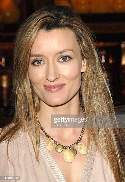 Natascha McElhone during 'The White Countess' London Premiere After Party at Dorchester Hotel in London Great Britain