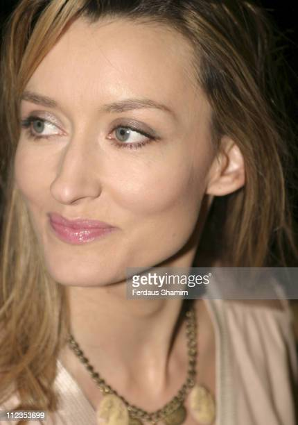 Natascha McElhone during 'The White Countess' London Premiere Arrivals at Curzon Mayfair in London Great Britain