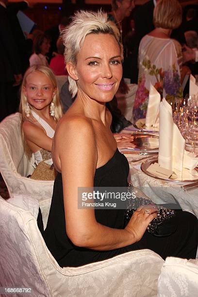 Natascha Ochsenknecht and daughter Cheyenne Savannah during cocktail reception at BMW Golf Cup International 2009 at Hotel Adlon in Berlin