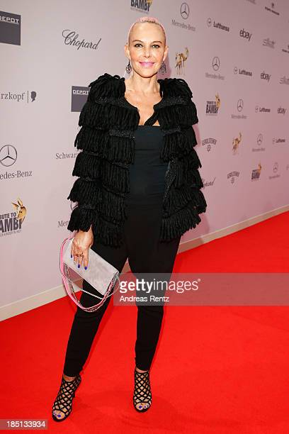 Natascha Ochsenknecht arrives at Tribute To Bambi at Station on October 17 2013 in Berlin Germany