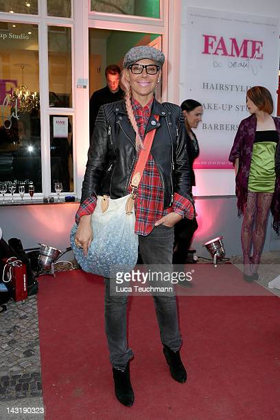 Natascha Ochsenknecht attends the Fame be Beautiful opening on April 20 2012 in Berlin Germany