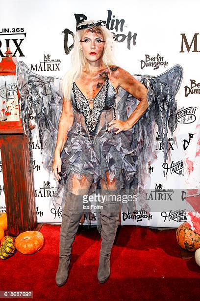 Natascha Ochsenknecht attends the Halloween party by Natascha Ochsenknecht at Berlin Dungeon on October 27 2016 in Berlin Germany