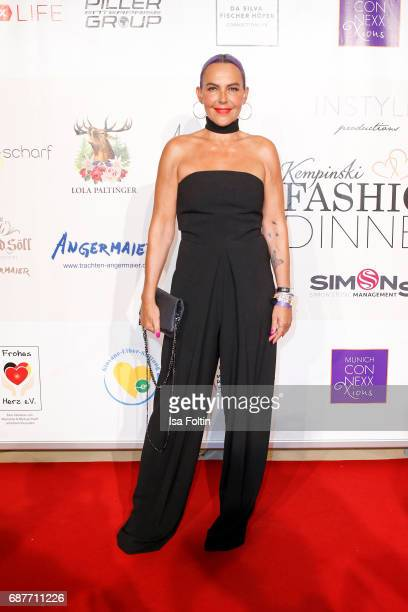 Natascha Ochsenknecht attends the Kempinski Fashion Dinner on May 23 2017 in Munich Germany