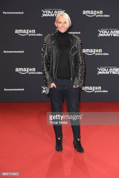 Natascha Ochsenknecht attends the premiere of the Amazon series 'You are wanted' at CineStar on March 15 2017 in Berlin Germany