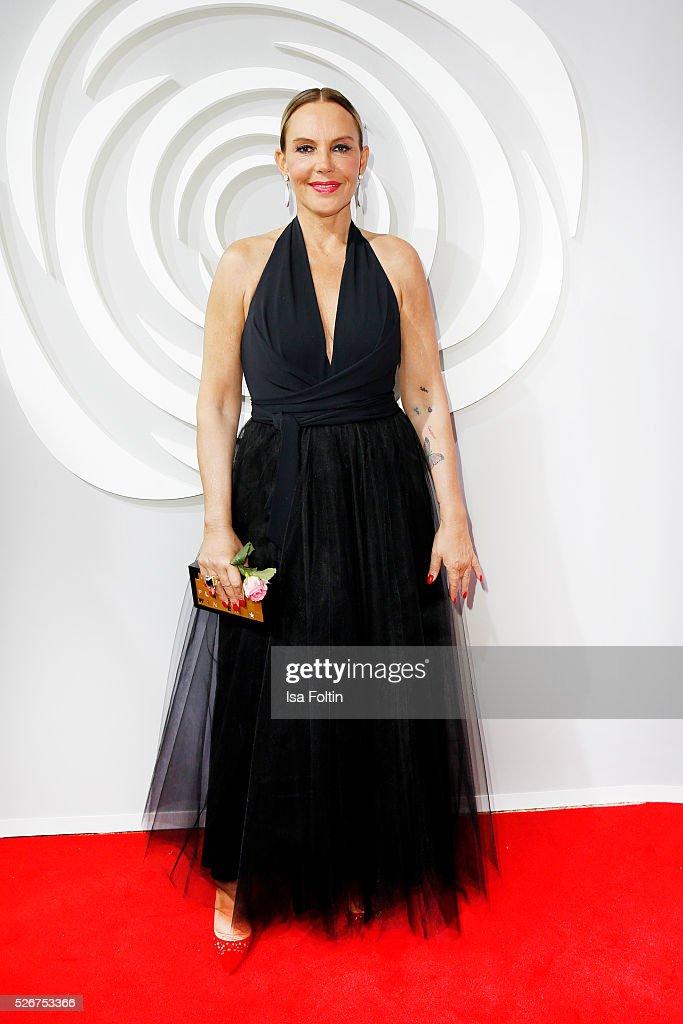 Natascha Ochsenknecht attends the Rosenball 2016 on April 30, 2016 in Berlin, Germany.