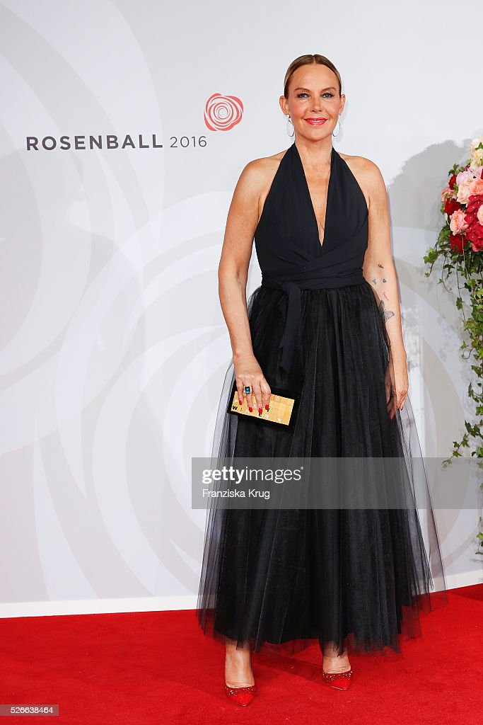 Natascha Ochsenknecht attends the Rosenball 2016 on April 30 in Berlin, Germany.