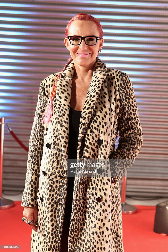 Natascha Ochsenknecht attends the 'RTL Spendenmarathon' at RTL Studio Huerth on November 22, 2012 in Cologne, Germany.